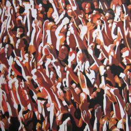 Folla (Acrylic on canvas 105x105)