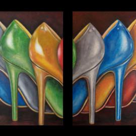 Fashion (130x70 Acrylic on canvas)