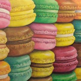 I miei amici Francesi (Acrylic on canvas 80x60)