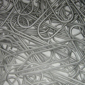 Intrecci (pencil on drawing paper 70x50)
