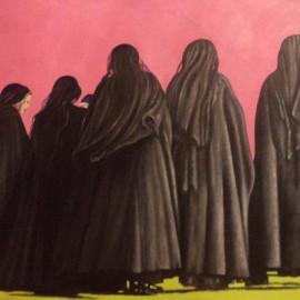 Mistero della fede 1 (acrylic on canvas 80x60)