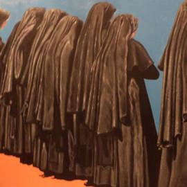 Mistero della fede 2 (acrylic on canvas 80x60)