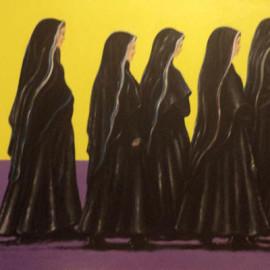 Mistero della fede 3 (acrylic on canvas 80x60)