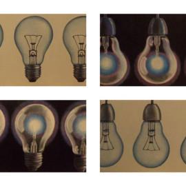 Relativity (Acrylic on canvas 200x100)