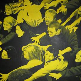 Travolti dalla Passione 3 (Acrylic on canvas
