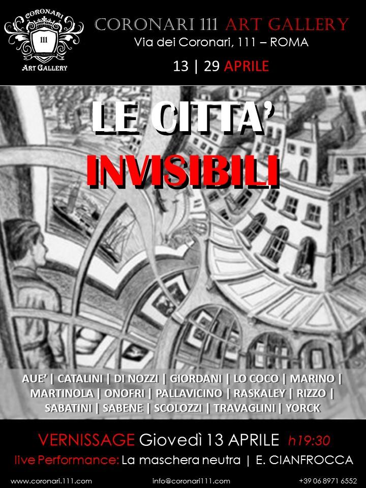 LOCANDINA - Le città invisibili